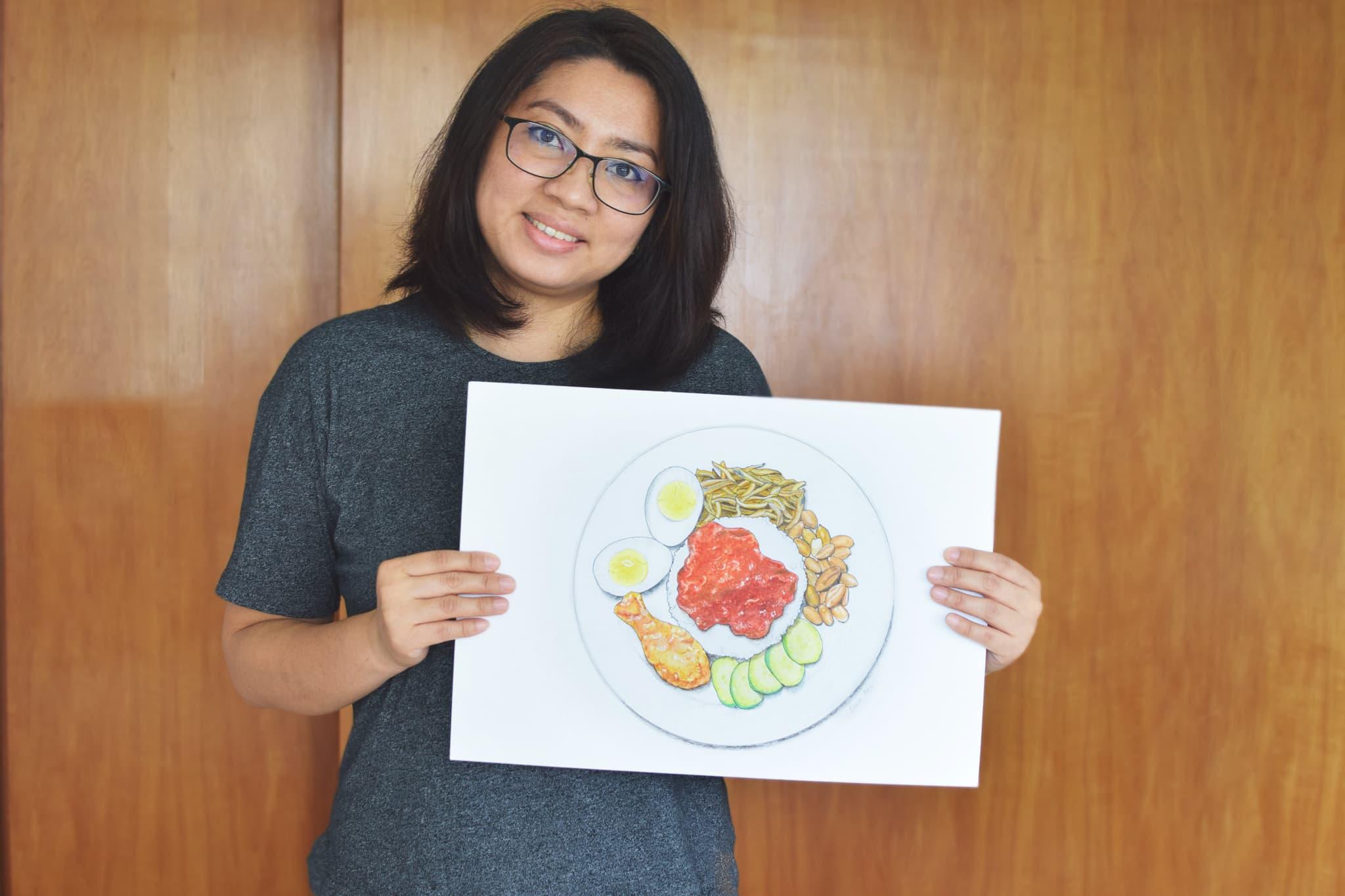 Bridging People Through Food Art