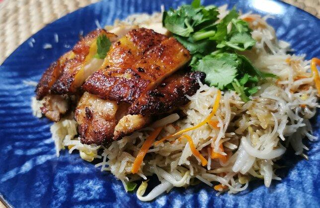 Lemongrass Chicken Noodles