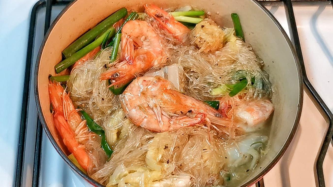 Thai Prawn Glass Noodles