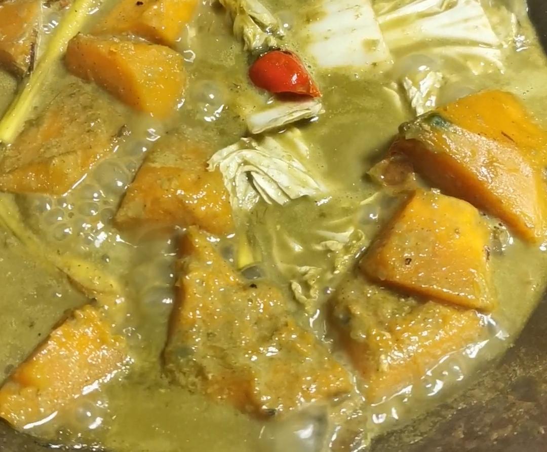 Gulai Labu (Pumpkin Curry)