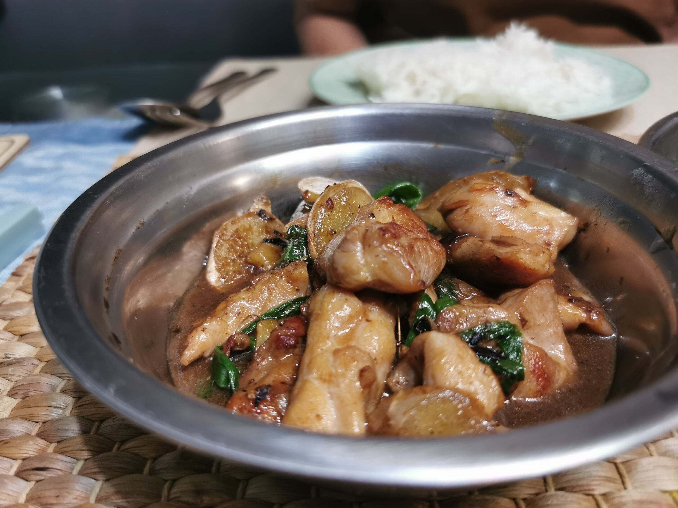Ginger Scallion Chicken